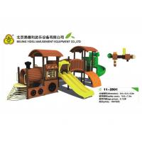 Best Primary School Timber Wooden Train Playground Entertainment Equipment wholesale