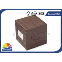 China Soy Ink Printing Chipboard Box Packaging Front Window 3-Piece Rigid Gift Box on sale