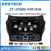 Best Fit for Hyundai IX45/santa fe accessories car radio dvd gps with audio system wholesale