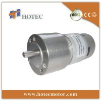 China 50mm metal gearbox low rpm 24V gear motor manufacturer on sale
