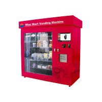 China Automatic Retailing Vending Kiosk , 19 Inch Touch Screen Adjustable Mini Mart Coin Vending Machine wholesale