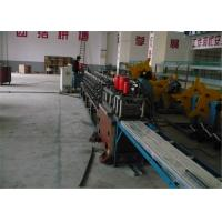 Best Low Noise Shutter Roll Forming Machine , DC24V Rolling Shutter Making Machine wholesale