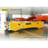 Best CNC Cutting Flatbed Rail Transfer Cart Post Weld Treatment For Steel Carriage wholesale
