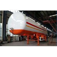 Best Double BPW/FUWA axles 17tons bulk road transported lpg gas tank, propane gas trailer wholesale