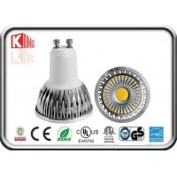 China CE , RoHS High Power Gu10 Led Lamps Aluminum COB 5W 2700k 500lm on sale