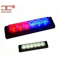 China Blue / Red 6 Watt Led Light Heads , Safety Towing Led Signal Lights wholesale