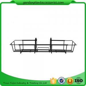 Best 24 Inch Black Garden Hanging Baskets wholesale