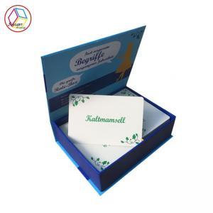 Best Elegant Custom Card Printing Gold Silver Foil Emboss Finishing White Paper wholesale