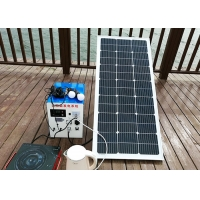 300W Portable Solar Power Systems MPPT / PWM Controller For Night Market
