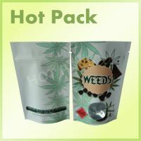 Best Plastic Stand Up Zip Lock Individually Packaged Tea Pouch Bags With Window Food Grade wholesale