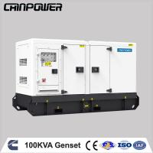 Best 100kva  silent type diesel generator powered by  cummins engine with stamford alternator wholesale