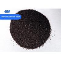 China 95 Brown Aluminum Oxide Abrasive Powder , Pre Processing Sandblast Aluminum Oxide Blasting Abrasive  on sale