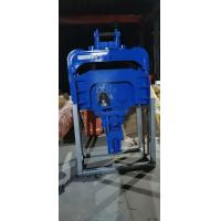 China Long Boom Excavator Vibratory Pile Hammer For 6-15 Meter Steel Plate Concrete Plate Drive on sale