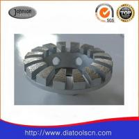 """Best 4"""" Diamond Grinding Wheels With Curve Edged Segment For Concrete And Stone wholesale"""