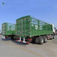 China 371HP EuroII Emission 12 Tyres 8 x 4  Heavy Duty Trucks Loading 60000KG on sale