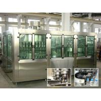 Buy cheap Drinking Pure Water Filling Machines With Rinser 40 / Filler 40 / Capper 10 product