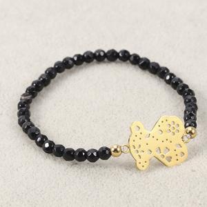 Best Black Stone brecelet for Handmade wholesale