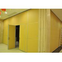 Best Moving Vinyl Metal Partition Walls Fabric Training Room Folding Partition wholesale