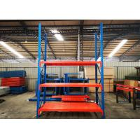 Buy cheap Custom Powder Coated Heavy Duty Industrial Shelving For Warehouse With Steel from wholesalers