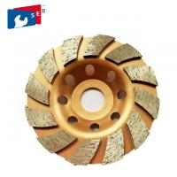 Best 125mm Turbo Diamond Masonry Grinding Cup Wheel with Alloy Bond for General Purpose wholesale