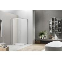 Best Extensible Pivot Shower Enclosure Side Door with Upper and Lower Aluminum wholesale