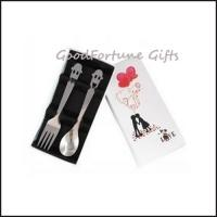 Best Stainless steel Wedding gift set spoon and fork souvenir gift wholesale