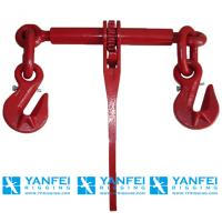 China En12195-3 G80 Ratchet Type Load Binder with Grab Hook for Chain on sale