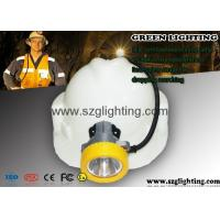 Best Semi corded coal mining lamp 8000Lux , USB charging way and 5.6Ah 18650 battery wholesale