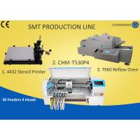 Buy cheap Manual SMT Production Line Solder Paste Stencil Printer , PCB Assembly Line Batch production product