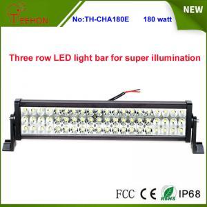 "Best Three Rows High Quality 180W 25"" 60*3w Epistar LED Offroad LED Light Bar for SUV, 4X4, UTV wholesale"