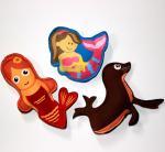 Best Good Quality Kids Neoprene Diving Animal Pool Toy wholesale