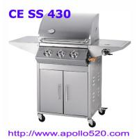 Best Gas Grill Barbecue 3burner with side burner wholesale