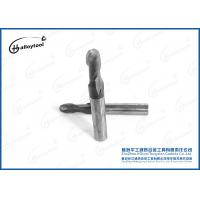China Carbide Ball End Mill For Wood , Standard Length Square Round End Mill Bits on sale