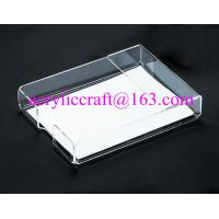 Best Acrylic office supplies clear portable memo holder made in china wholesale
