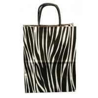China Luxury boutique Recyclable Custom Logo stand up kraft paper gift bag wholesales on sale