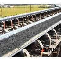 Buy cheap Width 800mm low cost portable rubber belt conveyor price , iron ore conveyor from wholesalers