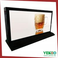 China Road side and mall advertising poster rotating light box on sale
