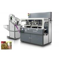 Buy cheap Industrial Multicolor Cosmetic Screen Printing Machine Chain - Type product
