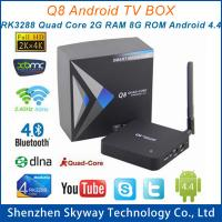 China Q8 RK3288 A17 2.4G+5G Dual Band wifi Quad Core 2G/8G Android TV Box Media Player with Ante on sale