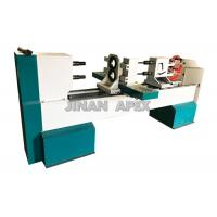 Best Double Rotary Cbenchtop Wood Lathe , Four Blades Wood Turning Lathe Machine wholesale