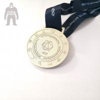 Best 3d Antique Metal Gold Medals Sports  Athletic Running Awarded 2mm  Thickness wholesale