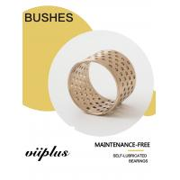 China Cusn8 Standard Oil hole Material Thrust Washers & Strips | Bronze bushings for Lifting gear on sale