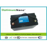 Best Light Weight 100AH 12V Lithium Battery , Long Life Cycle MSDS LithiumPolymerBatteryPacks wholesale
