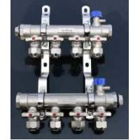 China DN16 Outlet Heat Pump Manifold , A20 Water Heater Manifold Easy Installation on sale