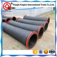 China Big size Top Quality Acid & Alkali resistant water/ oil rubber Suction and discharge hose, suction hose on sale