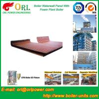 Best CFB 110 MW Boiler Water Wall Panels For High Temperature Solid Fuel Boiler wholesale