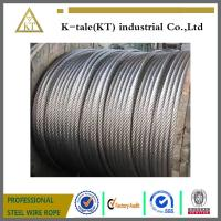 China ISO9001 Supply High Strong A2 A4 SUS304 316 Stainless Steel Wire Rope  7*19 4mm on sale