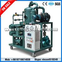 China Waste Transformer Oil Filtration Machine, Transformer Oil Recycling Plant on sale
