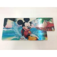 Best Customized Shape Die Cutting PP 3D Lenticular Stickers For Pencil Case ISO9001:2008 wholesale