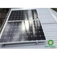 Best Energy Power Patented  Pitched Aluminum Structure Solar Bracket Ballasted Solar Racking Systems Innovative Design wholesale